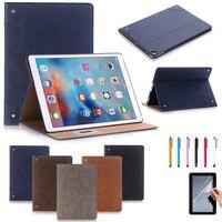 Retro Design Ultra Thin Leather Case Cover For Apple IPad Pro 12 9 Inch 2017 Release