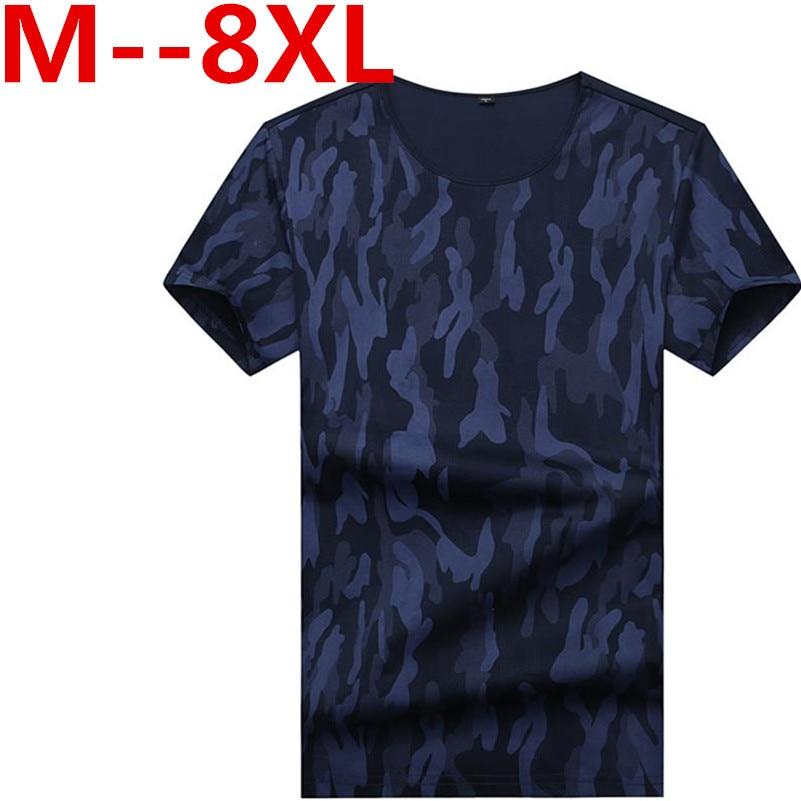 10XL 9XL 8XL 7XL 6XL t shirt men brand clothing summer striped t shirt male casual