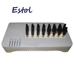 16 Cartões SIM Canal DBL GOIP16 Quad band sms GOIP-16 16 Canal VOIP Gateway GSM GOIP IMEI mudança banco sim antena curta