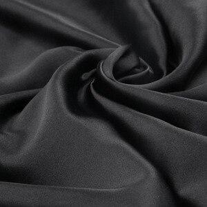 Image 2 - 1 para 100% jedwabna poszewka na poduszkę w kolorze ciemnego fioletu z ukryty zamek błyskawiczny natura poszewka na poduszkę dla zdrowego standardowego królowej króla darmowa wysyłka