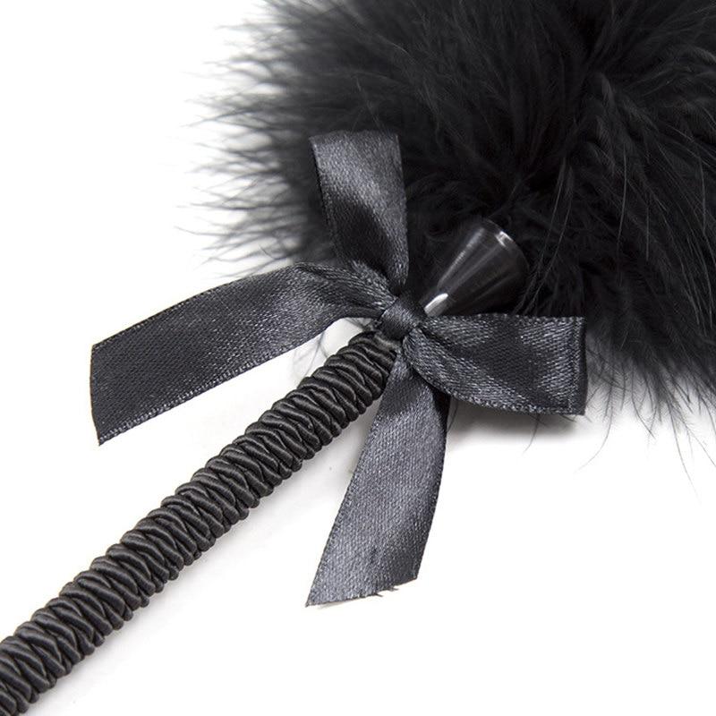 Image 5 - Feather Tickler Kinky Naughty Fancy Dress Spanking Paddle Whip Bondage Flogger Erotic Fetish Flirting BDSM Sex Toys For Couples    -