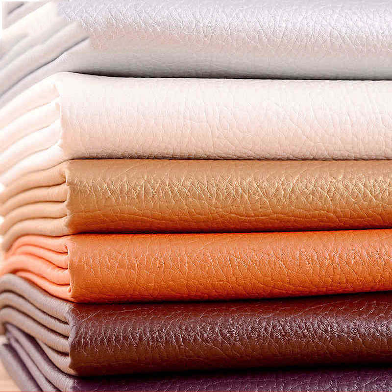 nice pu leather faux leather fabric for sewing pu