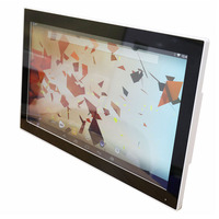 Plastic Shell Desktop Android Computer 15 6 Inch 1366 768 Resolution Wall Mount Android All In