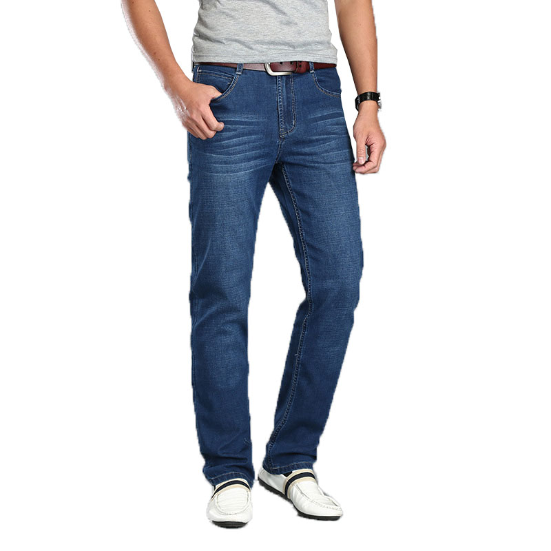 Spring Summer Thin Men Jeans Pants Men's Straight Loose Men Pants New Men's Jeans All Match Hombre Casual Pants Jeans New Hot