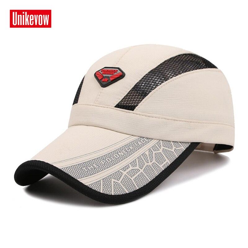 Snabbtorkade sommarbaseballhattar med glänsande tyg Hatt för män - Kläder tillbehör - Foto 2