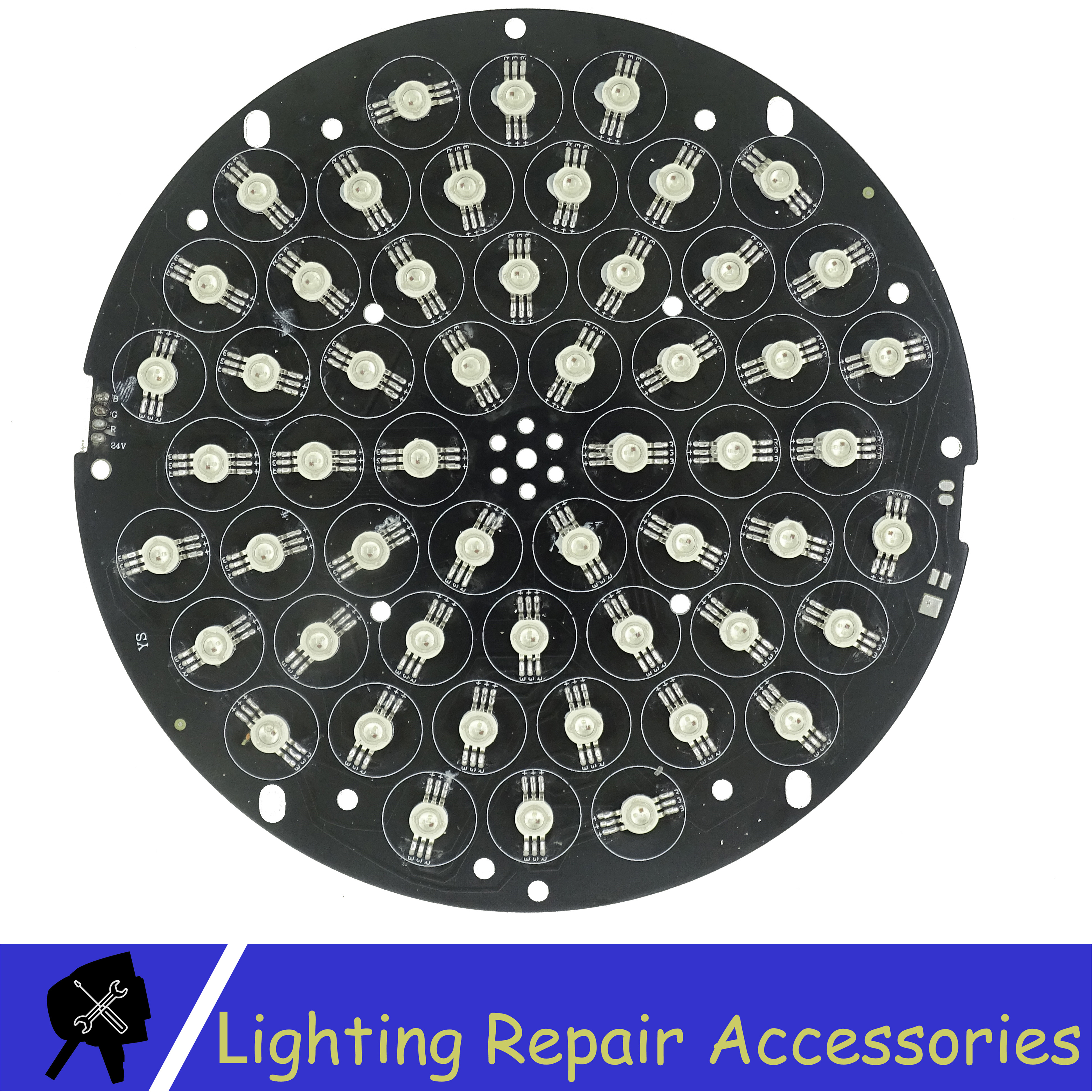 Led Lamp Bead For 54x3w RGB 3in1 Led Par Light Or 54x1w RGB 3in1 Par Light Stage Light Repair Accessories