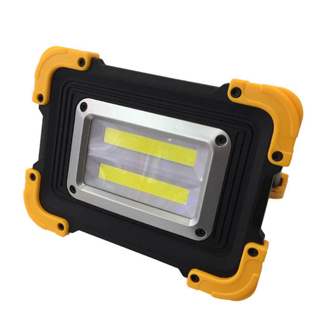 ARILUX 20W LED Portable Lantern Double Square Waterproof Outdoor Lamp COB Camping Light USB Rechargeable 3Modes Work Spotlight