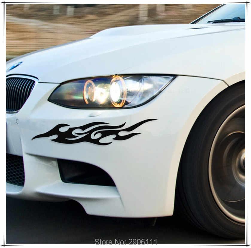 عالمي سيارة ملصقا التصميم النارية شارات اكسسوارات السيارات لهب النار ل ميني كوبر كلوبمان jcw paceman مواطنه كابريو