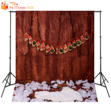 LIFE MAGIC BOX Birthday Backdrop Christmas Photo Background Baby Shower Photography Studio Props