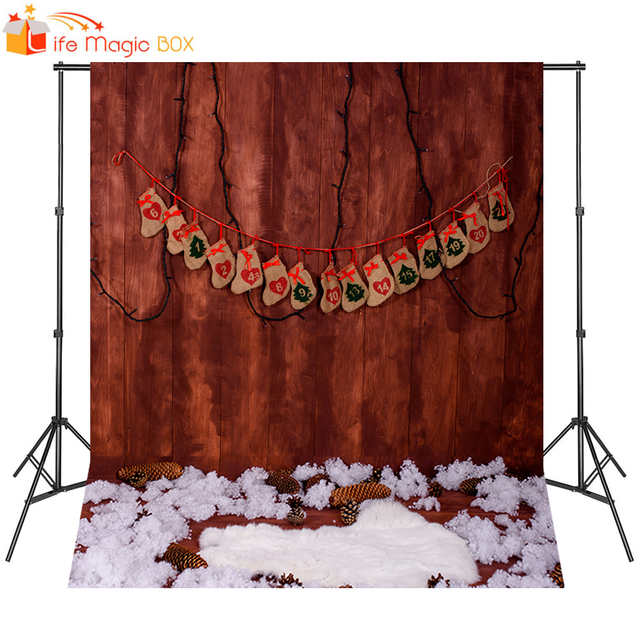 LIFE MAGIC BOX Birthday Backdrop Christmas Photo Background Baby Shower Photography Studio Props