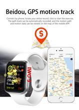 IWO 9 GPS smart watch IWO 9 1 1 MTK2502C na rękę smart watch 44 MM seria 4 wsparcie wahtsapp twitter wiadomość z przypomnieniem dla iphone 6 tanie tanio Kalendarz Budzik Tętna Tracker Fitness tracker Pilot zdalnego sterowania Passometer Uśpienia tracker Naciśnij wiadomość Wiadomość przypomnienie Czas światowy 24 godzin instrukcji Tydzień Przypomnienie połączeń