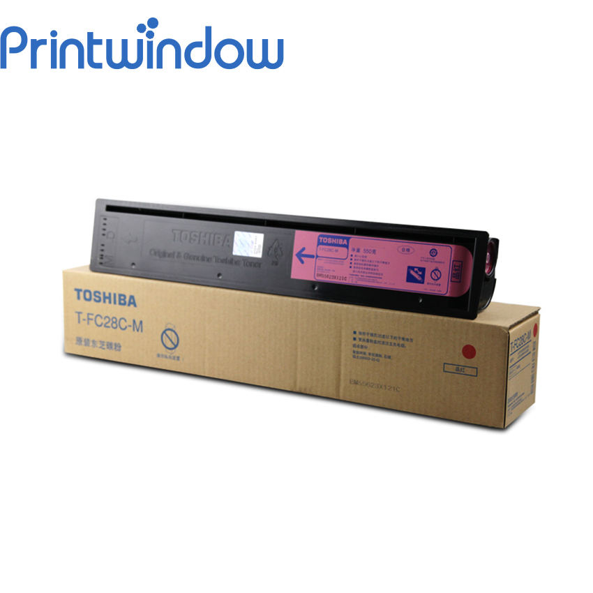Printwindow Compatible Toner Cartridge for Toshiba FC28 4X/Set compatible laser printer reset toner cartridge chip for toshiba 200 with 100% warranty