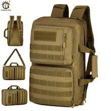 Outdoor 35L Sport Hiking Bag 3 Use Shoulder bag Trekking Molle Army Travel Backpack Military Tactical mochila militar