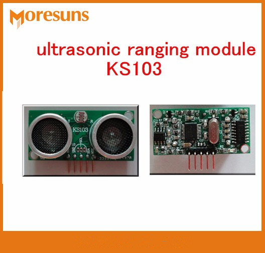 Fast Free Ship 5pcs High-end ultrasonic ranging module KS103 blind area 1cm,8m range 3.0V-5.5V distance measuring sensorFast Free Ship 5pcs High-end ultrasonic ranging module KS103 blind area 1cm,8m range 3.0V-5.5V distance measuring sensor