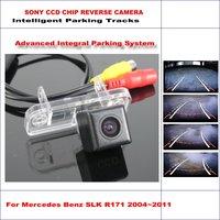 Hd ccd sony camera lùi cho mb mercedes benz slk r171 Bãi Đậu Xe thông minh Bài Hát Khoản Sao Lưu/NTSC RCA AUX 580 TV dòng