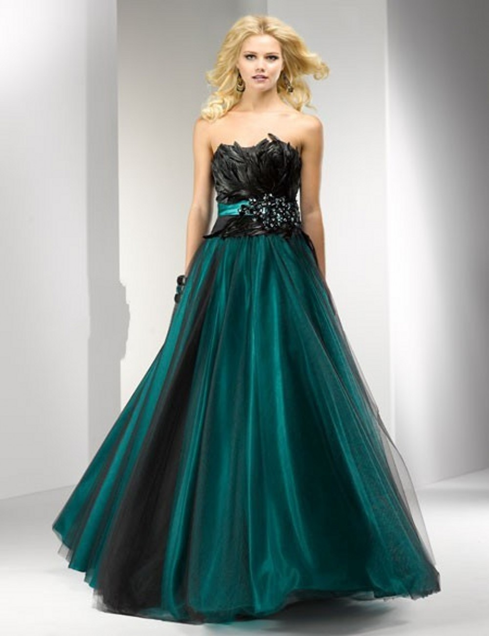 Peacock Ball Gown Prom Dresses Dress On Sale