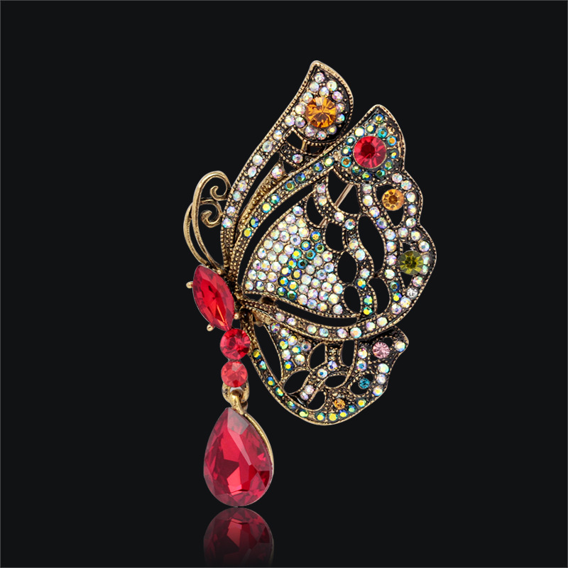 Unique Turkey Designs Personalized Decorative Luxury Rhinestone Brooch  Butterfly Purple Retro Brooches Wholesale Jewelry Gift-in Brooches from  Jewelry ... fa2eed7d8745