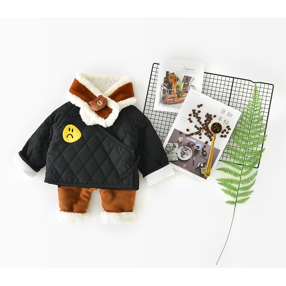 Hot sale 2018 winter Boys and Girls Clothes cotton Babys Sets ADN1-ADN4