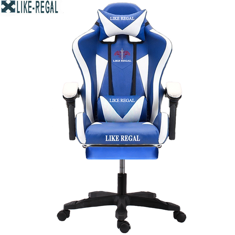 LIKE REGAL  WCG Furniture Office boss Rotating  lift executive swivel Game chairLIKE REGAL  WCG Furniture Office boss Rotating  lift executive swivel Game chair