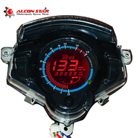 Alconstar 7 Color Motorcycle Instrument LCD Digital Gauge Speedometer Tachometer Odometer Display FOR Yamaha LC135