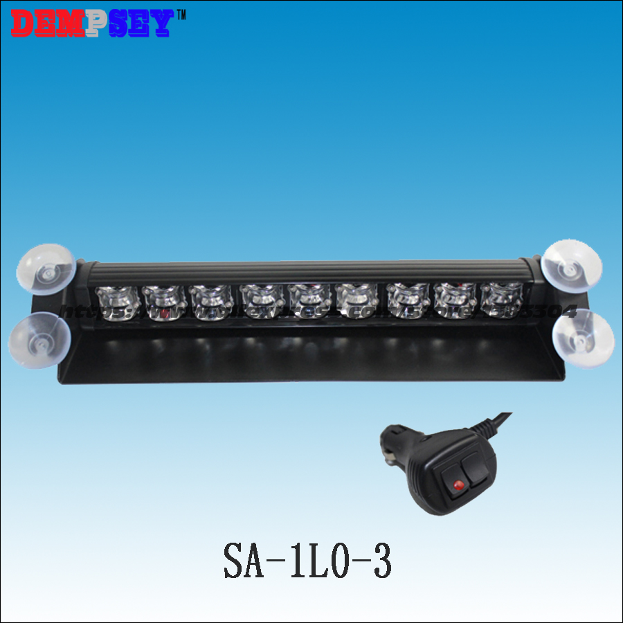 SA 1L0 3 high power LED auto strobe light vehicle deck dash emergency traffic advior warning light/12 24V LED warning lightbar