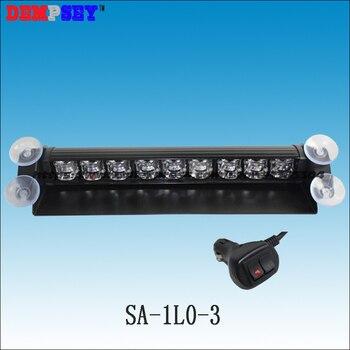 Sa-1l0-3 высокой мощности светодиодный Авто Strobe Light автомобиля Палуба Даш аварийно трафика advior сигнальная лампа/12-24 В светодиодный предупрежда...