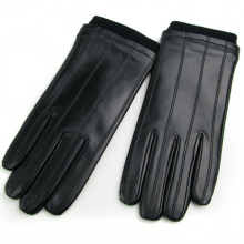 Driving Leather Gloves Plush