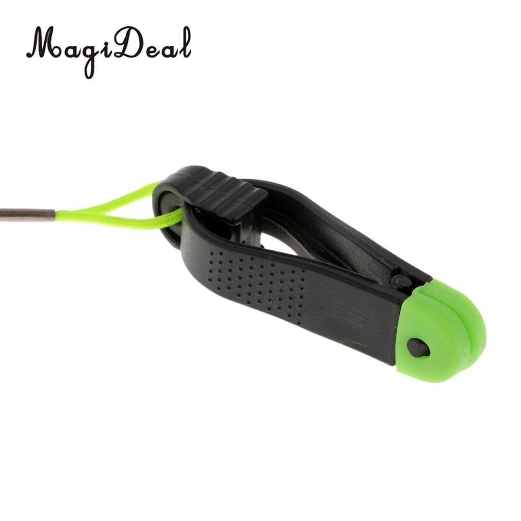 Downrigger Release Clip Adjustable Board Snap Outrigger for Fishing Line Locking