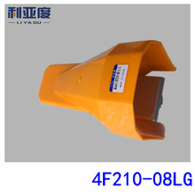 10PCS/LOT 4F210-08LG Pneumatic foot switch/locking the pedal switch/valve/stamped on the valve two five-way shield 1/4