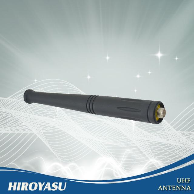 Nueva llegada UHF antena 400 - 520 MHz SMA conector para mujer para HIROYASU portátil Radio de dos vías IM-1410
