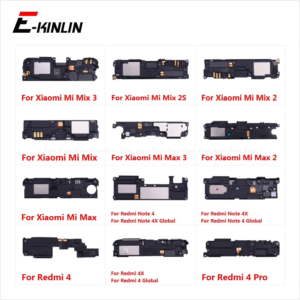 Rear Bottom Loudspeaker Buzzer Ringer Loud Speaker Flex Cable For XiaoMi Mi Mix 2S Max 3 2 Redmi Note 4 4X Pro Global