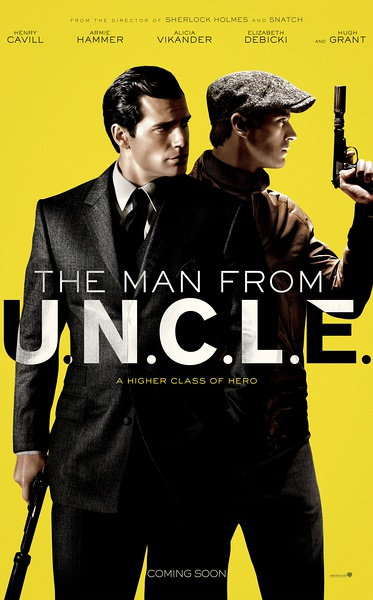 The Man from U.N.C.L.E. (2015) Vintage movie poster 24x36 inch 03