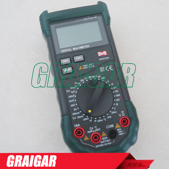 ФОТО Free shipping , MS8269 LCR Inductance LC Meter Multimeter