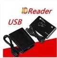Precio bajo negro o costumbre 125 Khz ventanas ID card reader USB LF card ID reader / 125 Khz lector de tarjetas para TK4100 / viruta EM