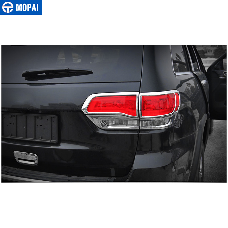 Image 3 - MOPAI Lamp Hoods for Jeep Grand Cherokee 2011 Up Car Rear Tail Light Lamp Decoration Cover for Jeep Grand Cherokee Accessories-in Lamp Hoods from Automobiles & Motorcycles