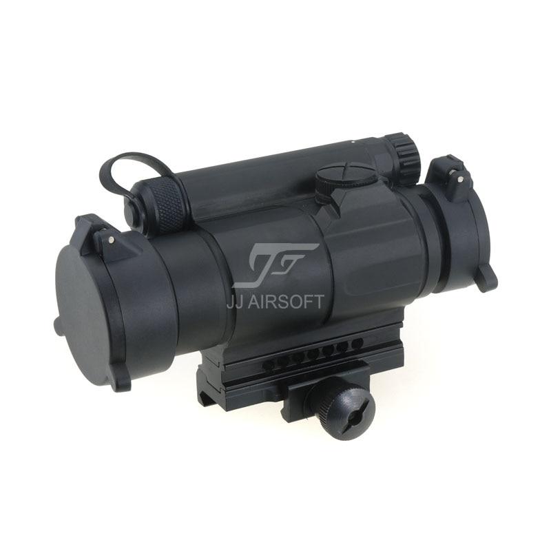 JJ Airsoft M4 Red Dot (Black/Tan)