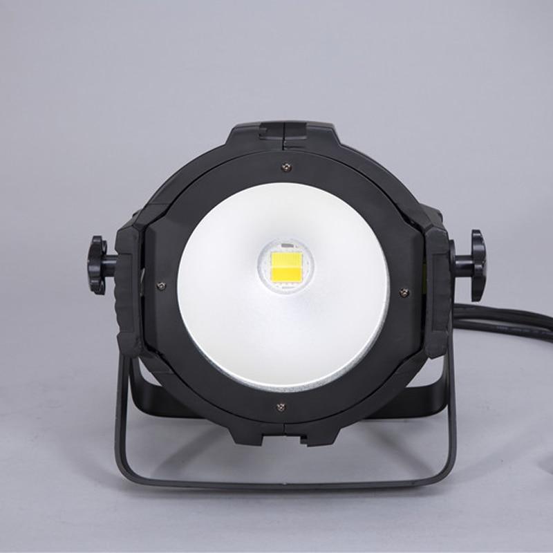 fonte de luz led 200 w cob branco e warm white led wash luz dj led