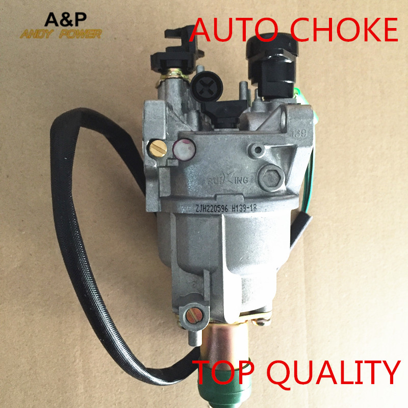 Ruixing Carburetor for GX390 generator engine,5kw gas generator,EC6500 188F 389CC, Ruixing best brand carburator with Auto choke