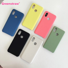 Greenstraw OEM Liquid Silicone Gel Shockproof Case for Xiaomi Mi 8 SE Silky & Soft Touch Defender Cover For Xiaomi 6X A2 Mix 2S