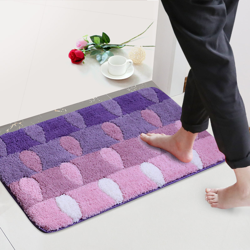 Thickening Bathroom Carpet Door Mats Bedmat In Living Room Tapis De Bain For Home Nonslip Banyo Paspas <font><b>Bathmat</b></font> For Decor Toilet