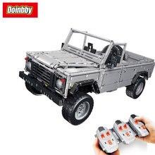 LEPIN 23003 Technic Creative MOC RC Wild Off-Road Vehicles Remote Control Building Block Bricks Toys 3643Pcs Kids Gifts