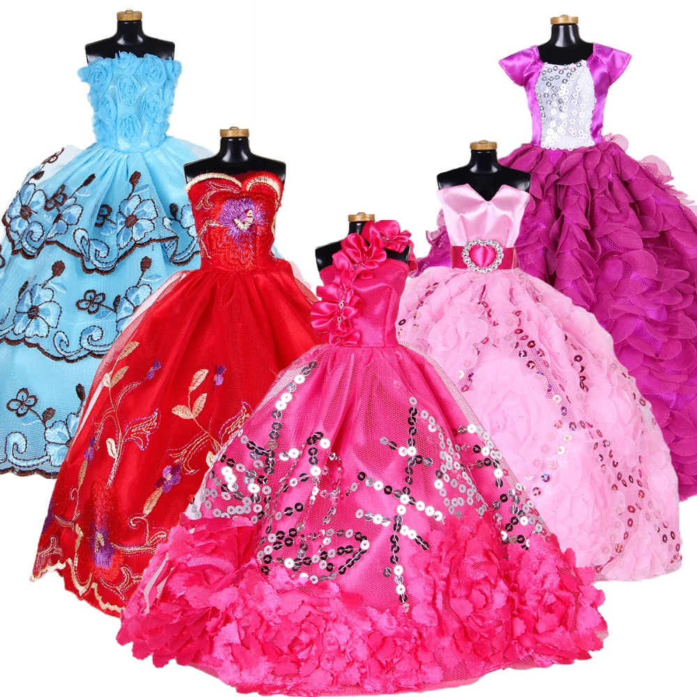 Buy barbie dress and get free shipping on AliExpress.com 8a10752a10ce