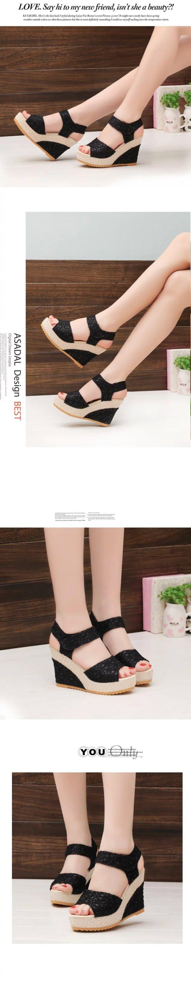 bf9097a2c473 2018 Summer Women Sandals Fashion Bohemia Platform Women Shoes Female  Footwear Women Casual Shoes YBT570