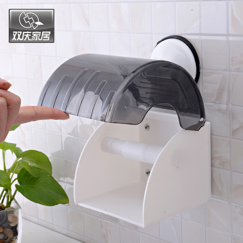 Suction Toilet Paper Holder Waterproof Roll Towel SQ-1983