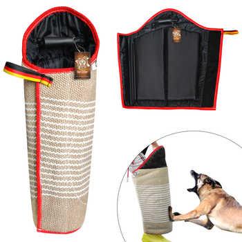 สุนัขอุปกรณ์การฝึกอบรม Bite แขน Tugs แผ่น Interactive สัตว์เลี้ยงสุนัขของเล่นสำหรับหนุ่มสุนัข K9 ทำงานสุนัข Malinois เยอรมัน - SALE ITEM บ้านและสวน