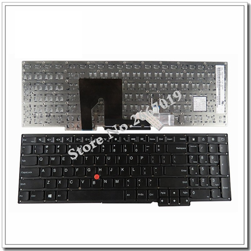 new English NEW Keyboard For Lenovo for ThinkPad for Yoga S5 S531 S540 US Laptop Keyboard no backlight new original for lenovo thinkpad e560p s5 us english backlit keyboard backlight teclado 00ur628 00ur591