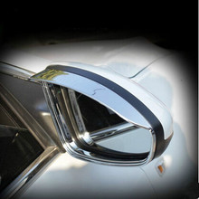 New Arrival Car rearview mirror Rain Eyebrow ABS Chrome Material For Chevrolet Cruze hatchback Sedan Car styling