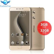 Оригинал Ulefone Близнецы 5.5 »Мобильный Телефон Android 6.0 MT6737 Quad Core 3 ГБ RAM 32 ГБ ROM Смартфон 4 Г LTE Dual Задняя Камера GPS