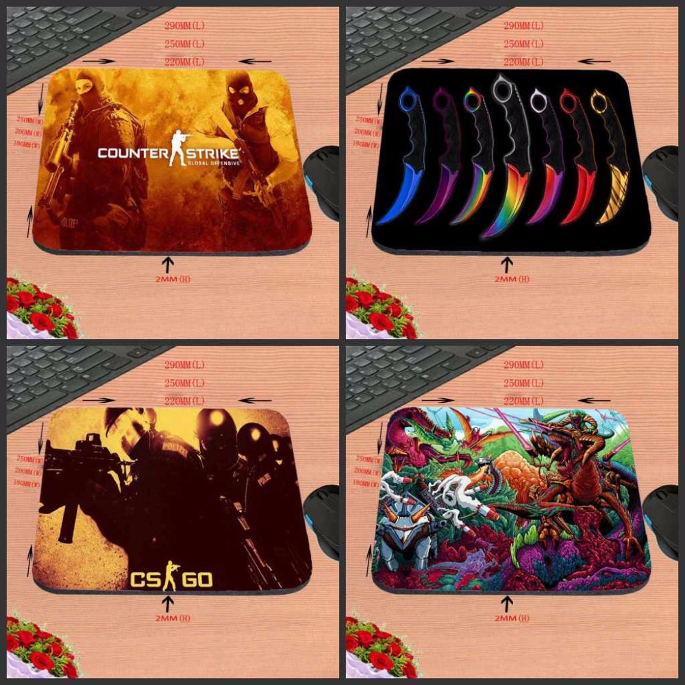 Computer Speed Mouse Pads CS GO Gaming Mouse Pad Rubber Gamer Soft Comfort Mouse Mat New Arrivals Hot Sale Luxury Printing