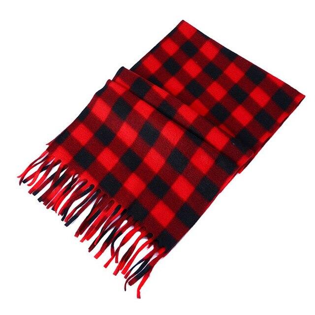65025b501 Women Men Velvet Plaid Scarf Autumn Winter Female Cashmere Scarves Wide  Lattices Long Shawl Wrap Blanket Warm Classic Tippet